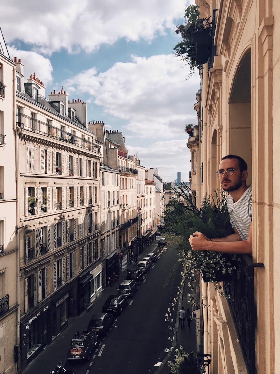 chambre avec vue balcon Grand Pigalle Hotel avis