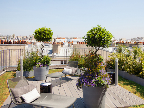 hotel fashion week staycation boutet terrasse