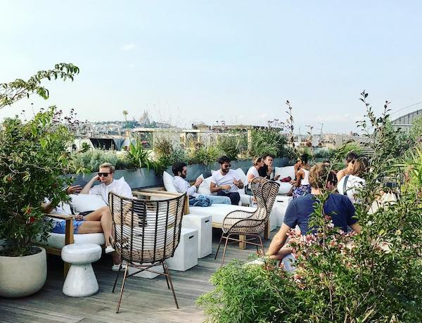terrasse hotel national des arts et metiers rooftop staycation