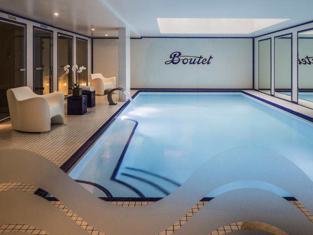 meilleur spa d'hôtel paris piscine boutet bastille staycation