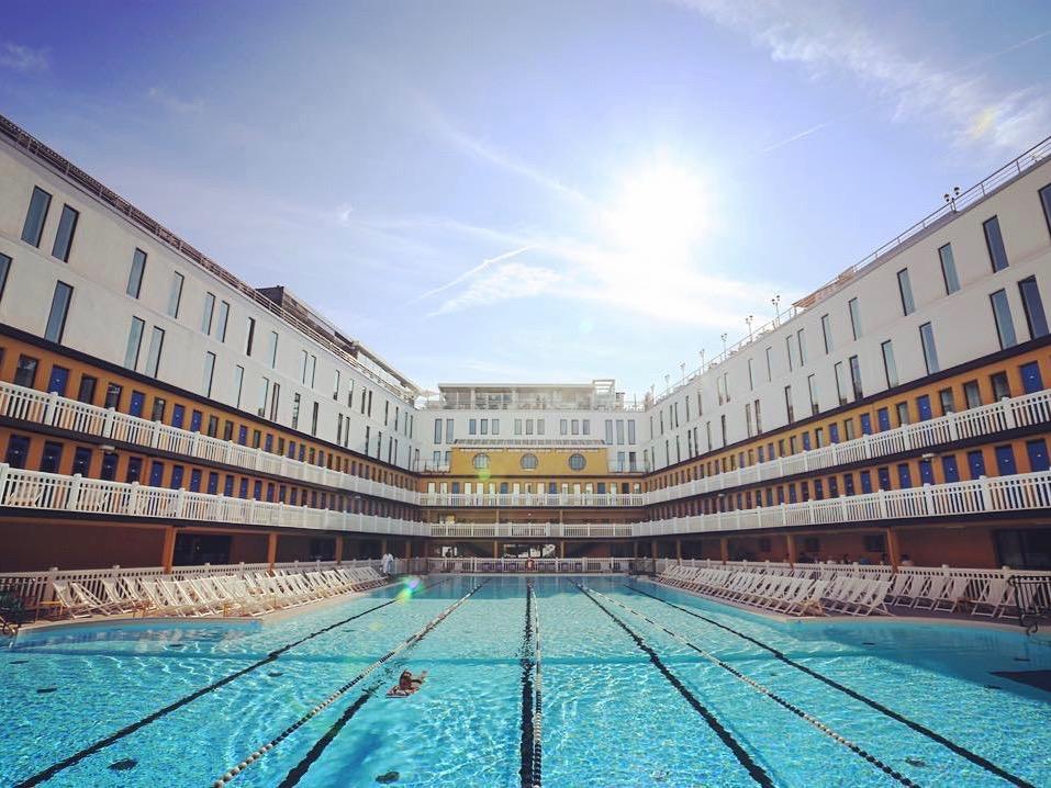 meilleurs spa hôtels paris molitor staycation piscine bassin extérieur