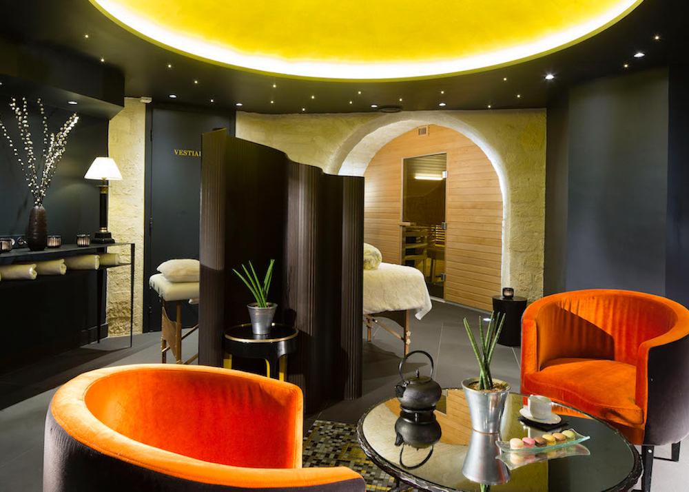 meilleurs spas d'hôtel bourgogne et montana spa massage Paris