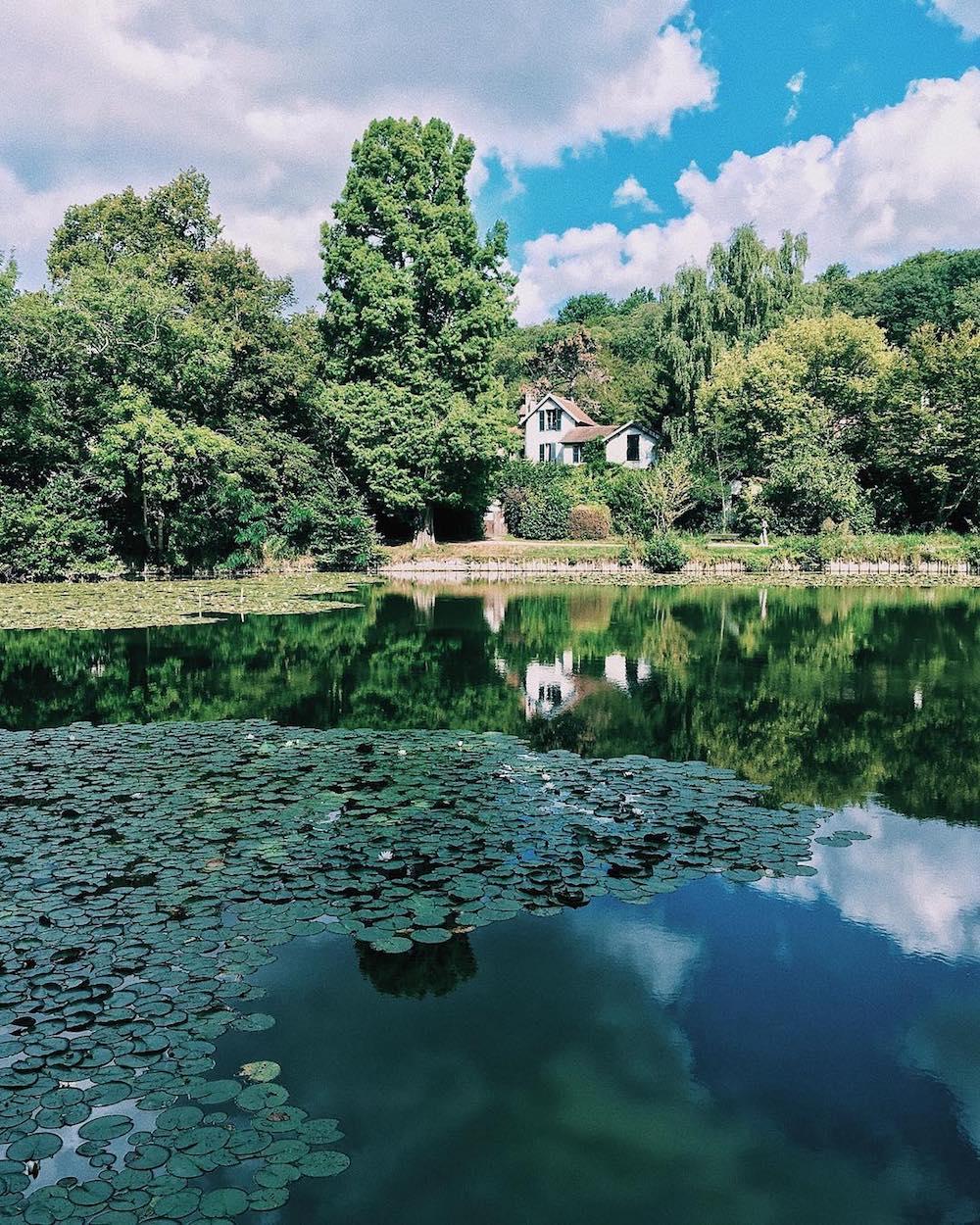 les etangs de corot nature week end amoureux près de Paris