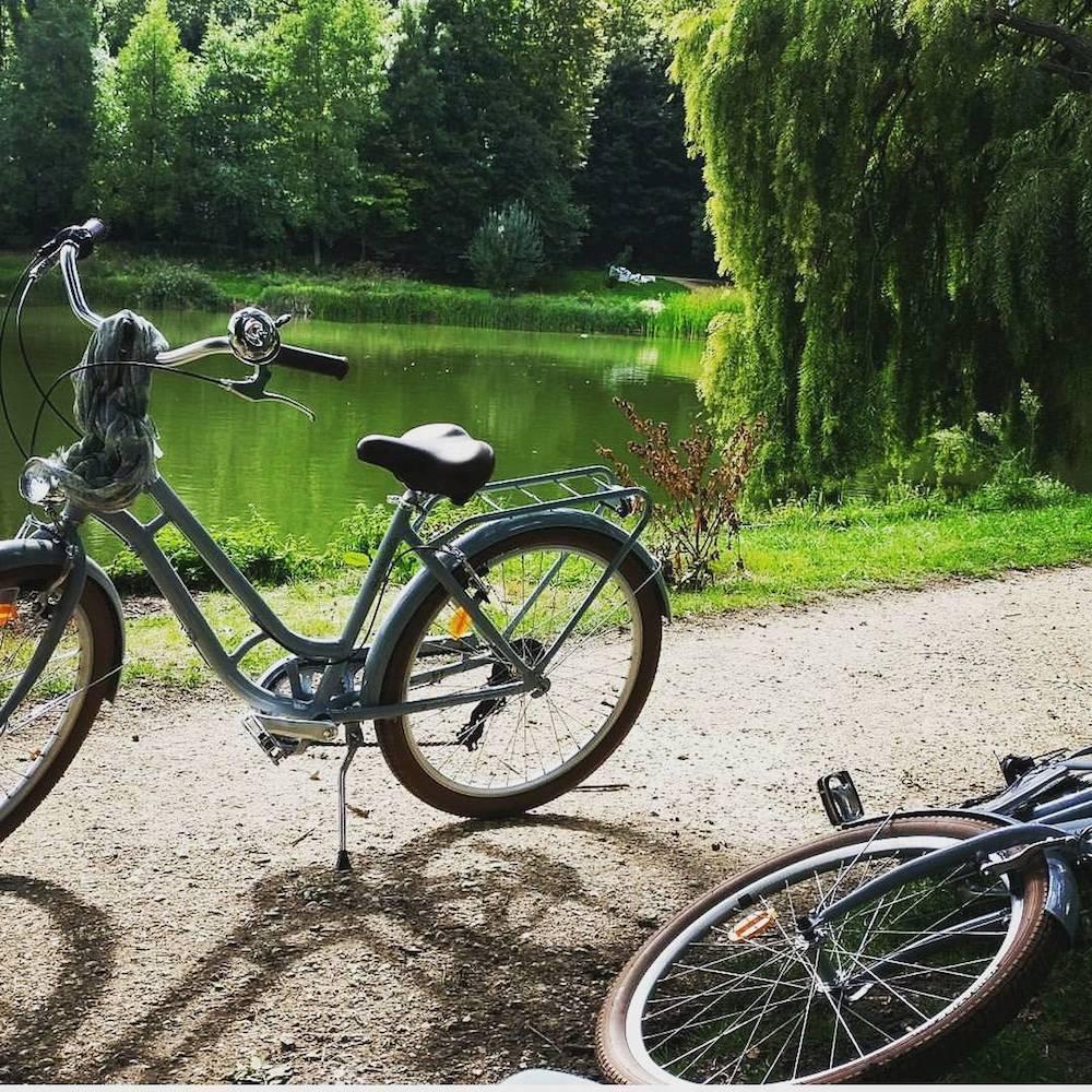 les etangs de corot vélos balade forêt