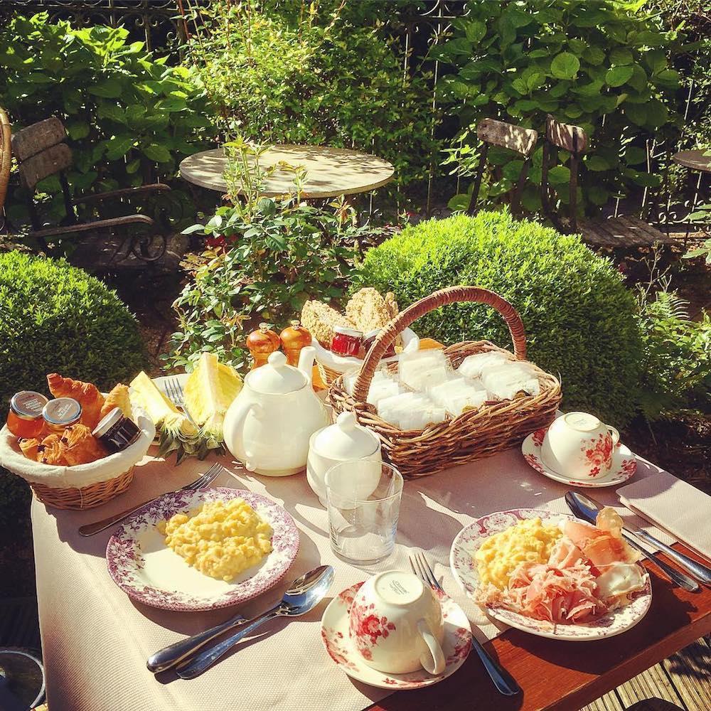 les etangs de corot guinguette les paillottes petit déjeuner