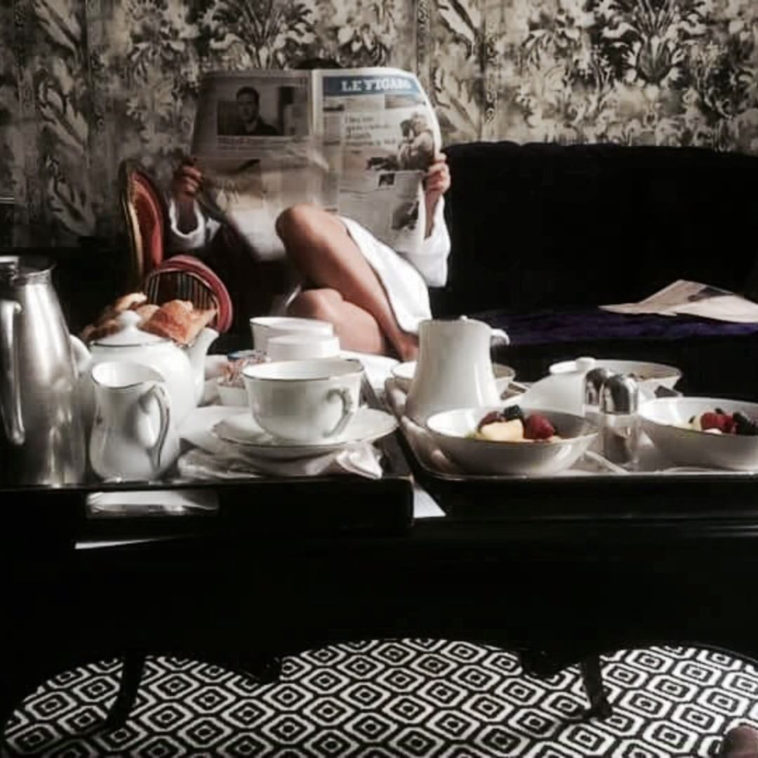 petit déjeuner au lit