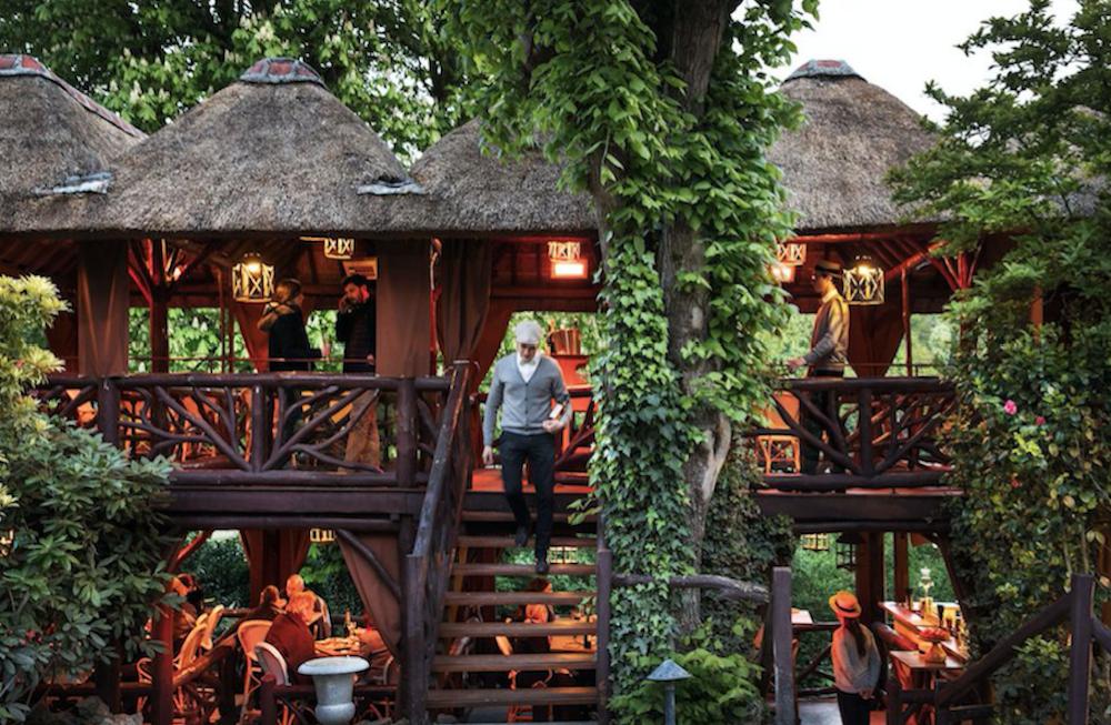 que faire à paris pour se sentir en vacances etangs de corot restaurant jardin paris