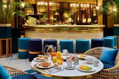 Hotel-lechiquier-bar-restaurant-brunch-paris-75010-offre-staycation-dimanche-tea-time