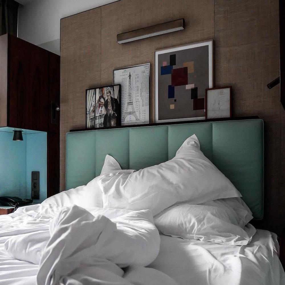hotel paris 15 eiffel blomet chambre lit suite