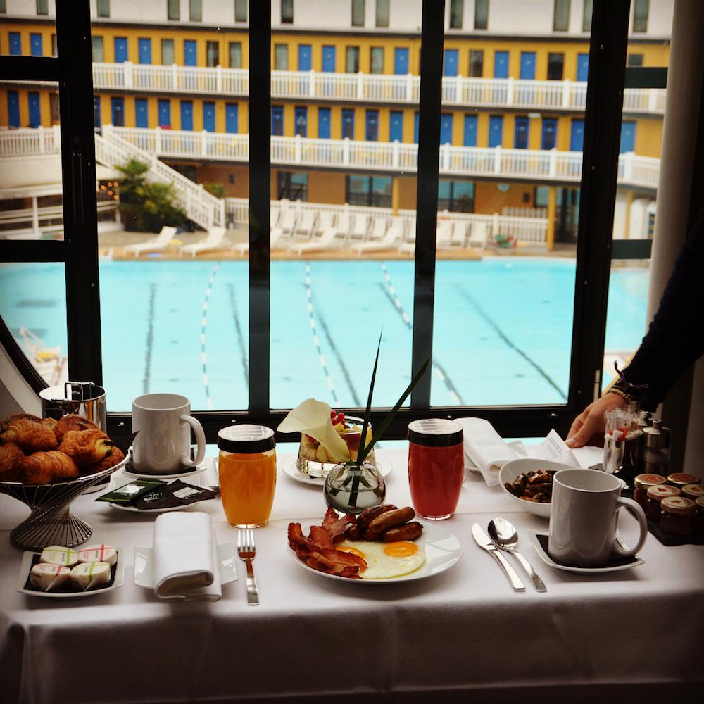 hotel molitor petit déjeuner en chambre
