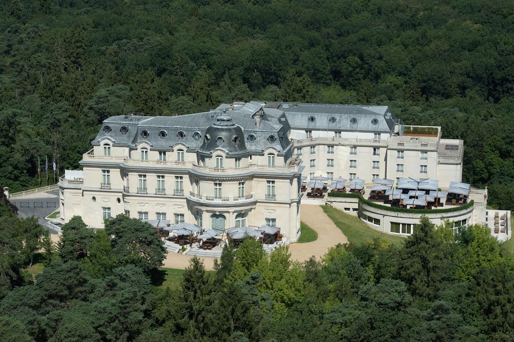 montroyal chateau chantilly paris extérieurs jardins