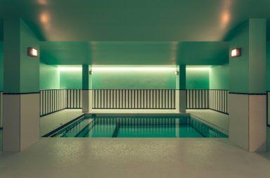 hotel paris 2ème avec piscine intérieure privée et spa privatif studio Dimore