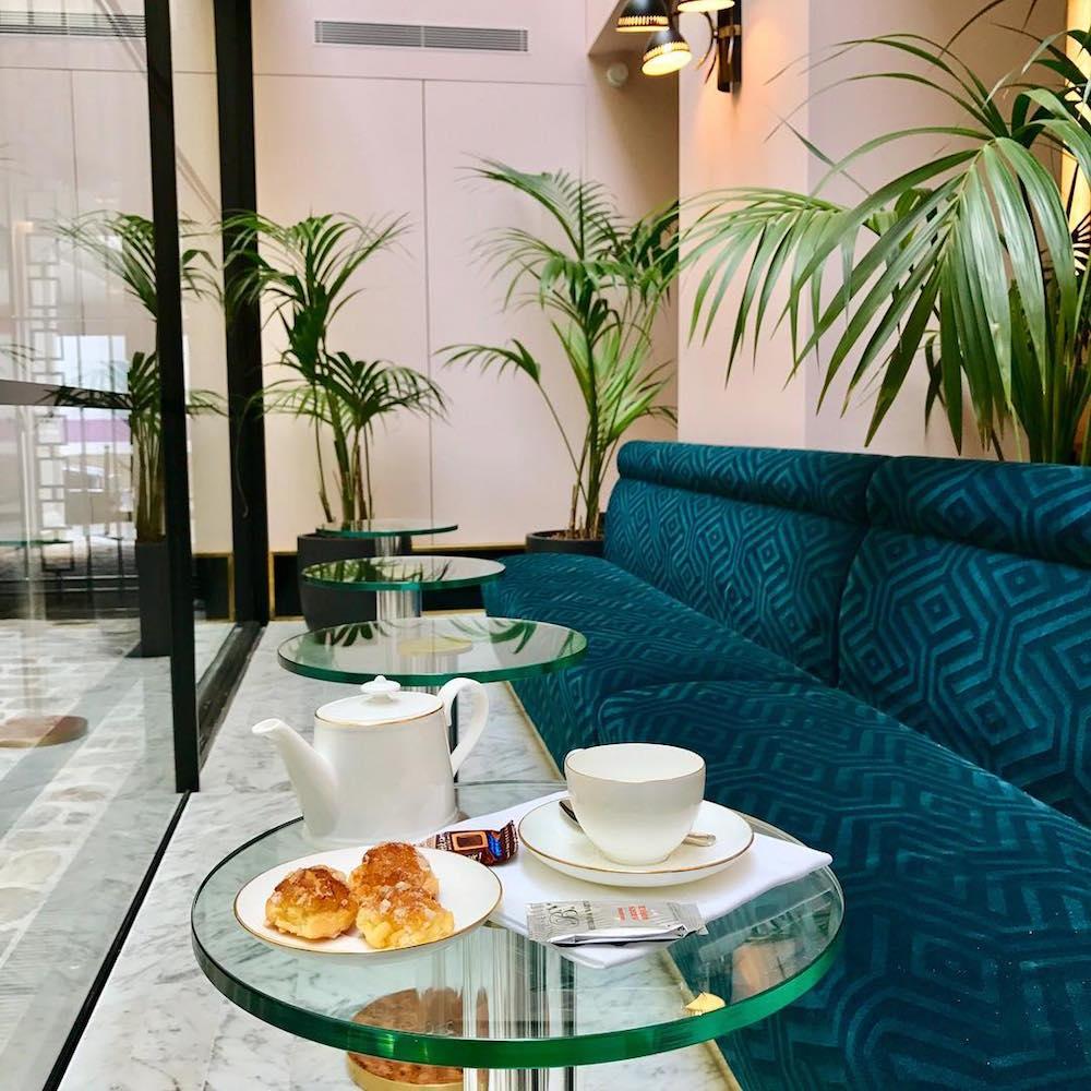 hotel paris 2ème avec piscine intérieure privée et spa privatif tea time