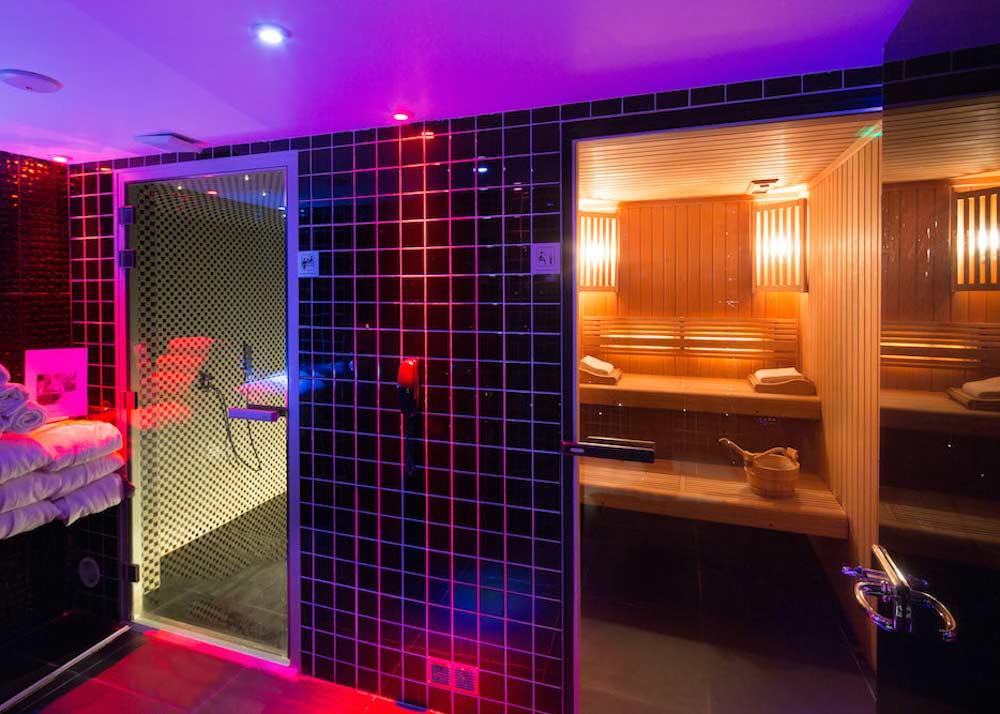 que faire vacances paris platine hotel spa hammam sauna