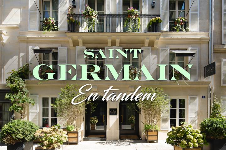 hôtel le saint Saint-Germain-Des-Pres-Paris-7-ème-facade