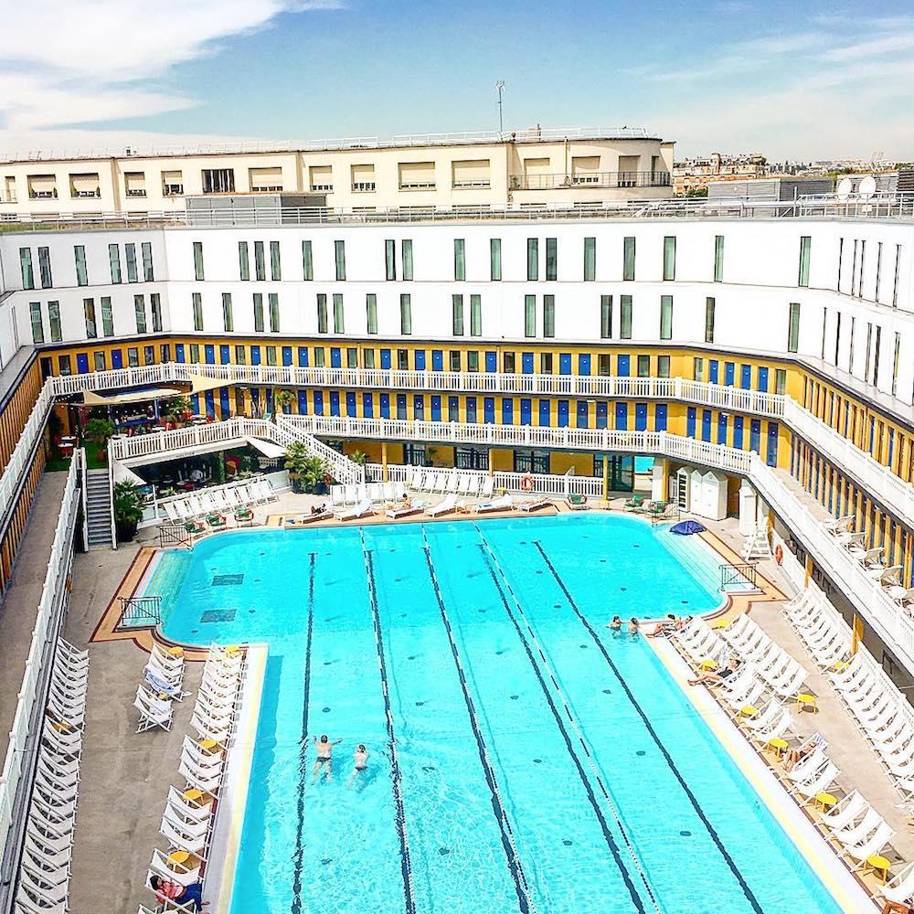 que faire à paris quand il fait beau hotel molitor piscine