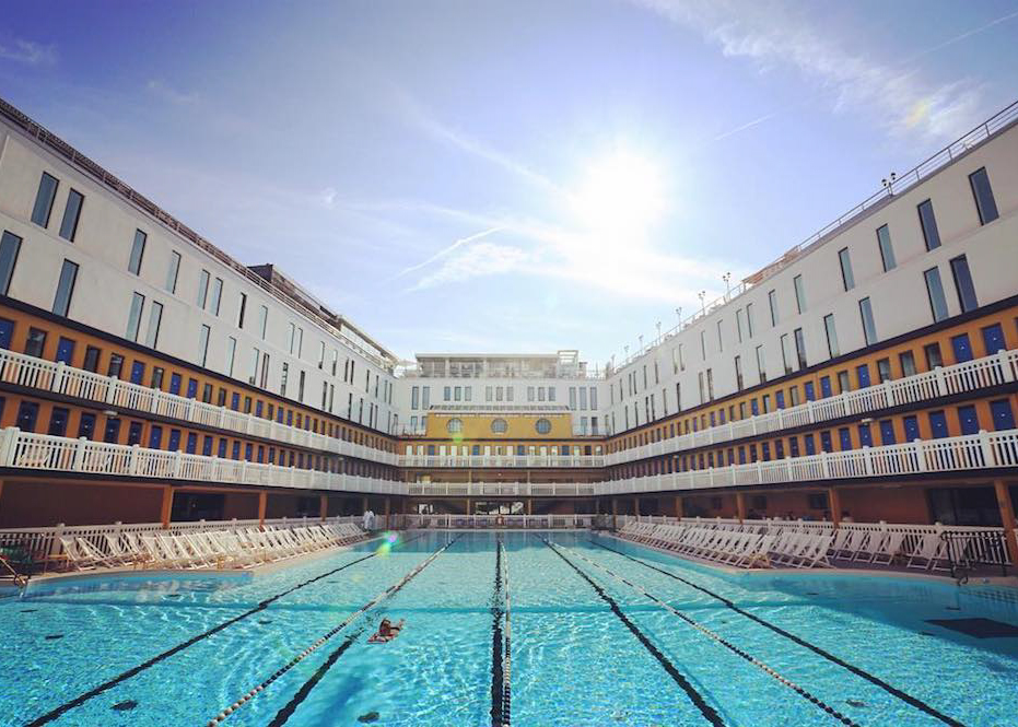 cadeau maman hotel molitor piscine staycation