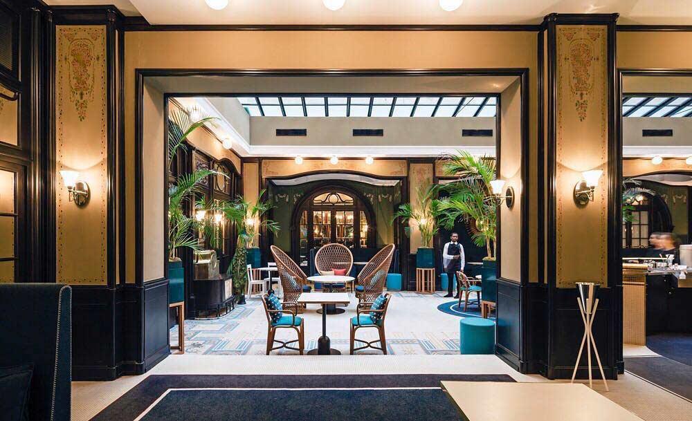 avis staycation hotel l'echiquier opéra jardin d'hiver