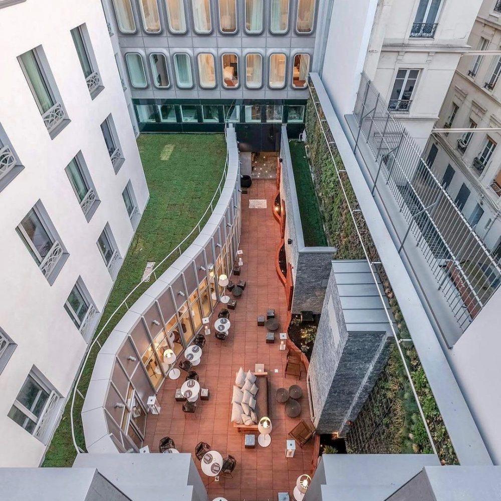 hotel avec terrasse paris 10