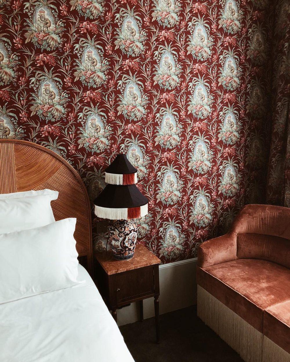 hotel monte cristo paris chambre design