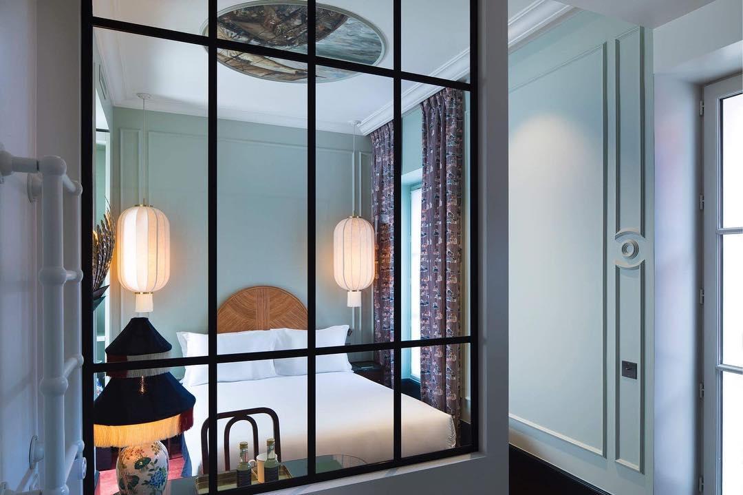 hotel monte cristo paris design chambre