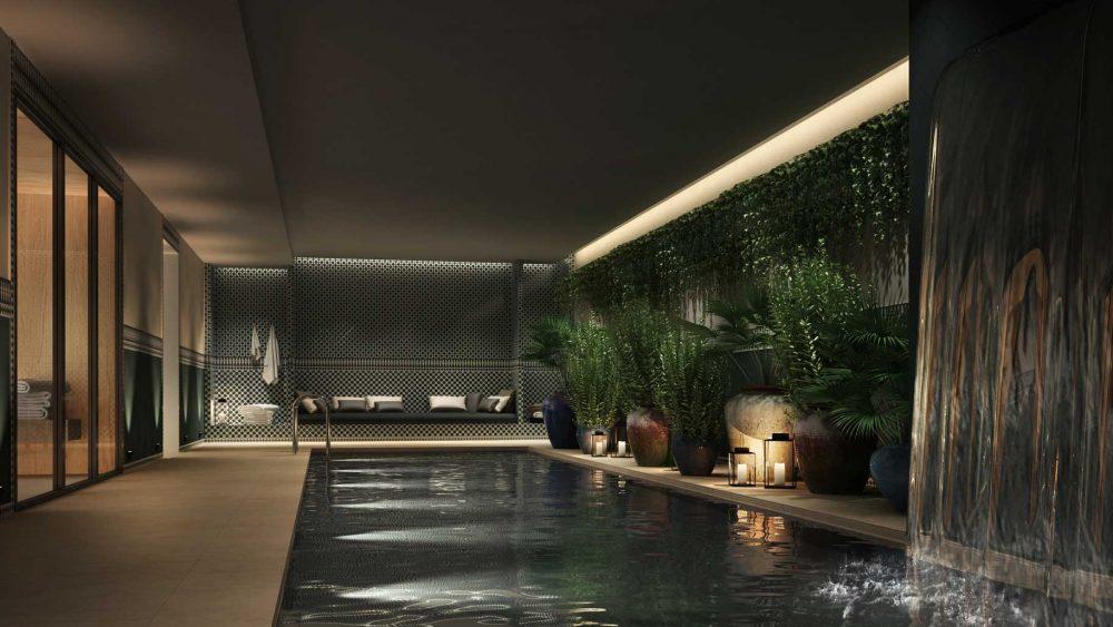 hotel monte cristo paris piscine privee