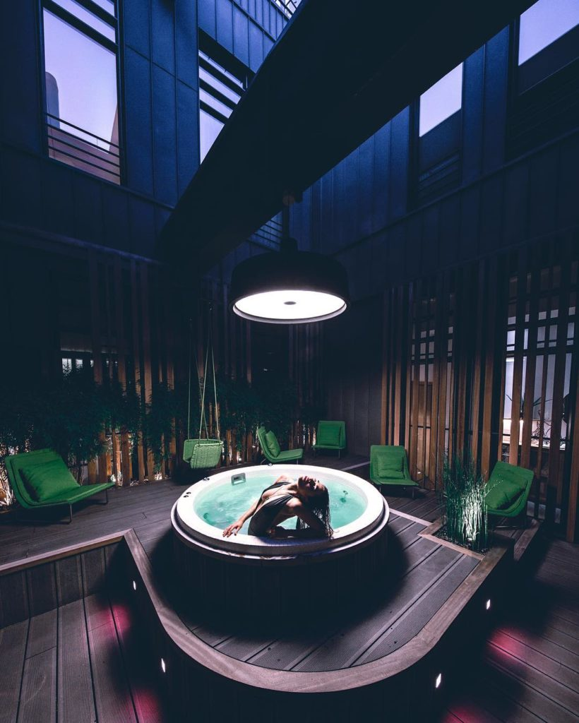 hotel avec jacuzzi privatif paris