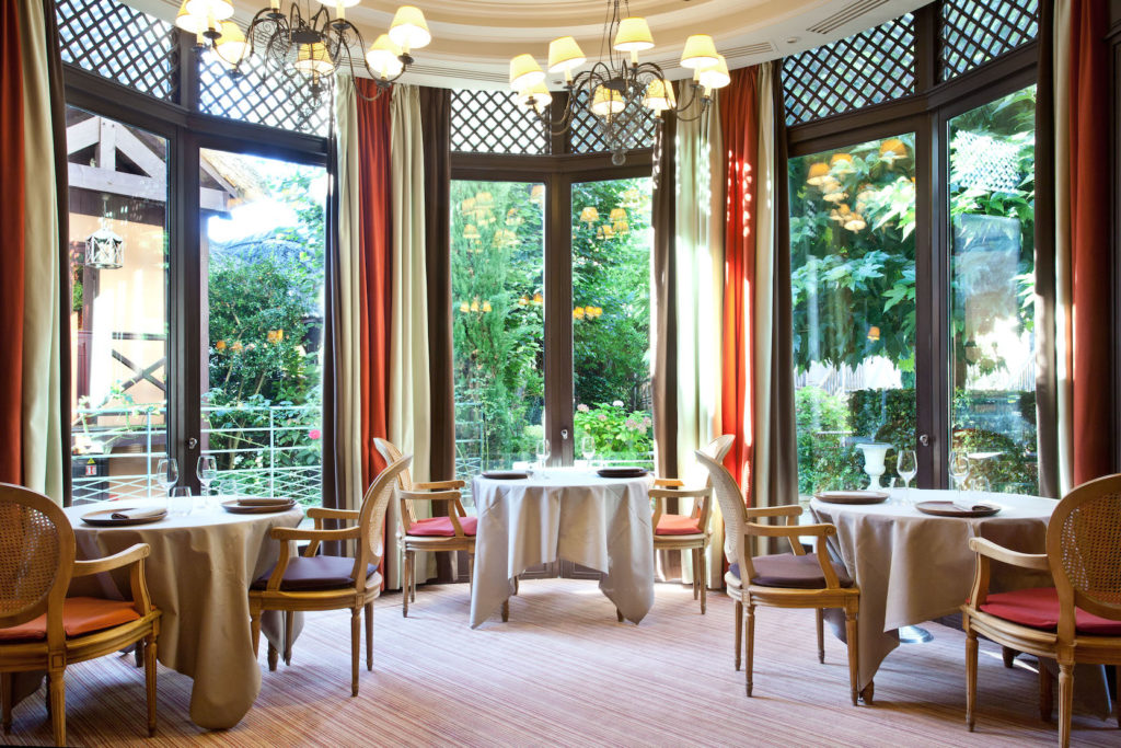 restaurant romantique paris