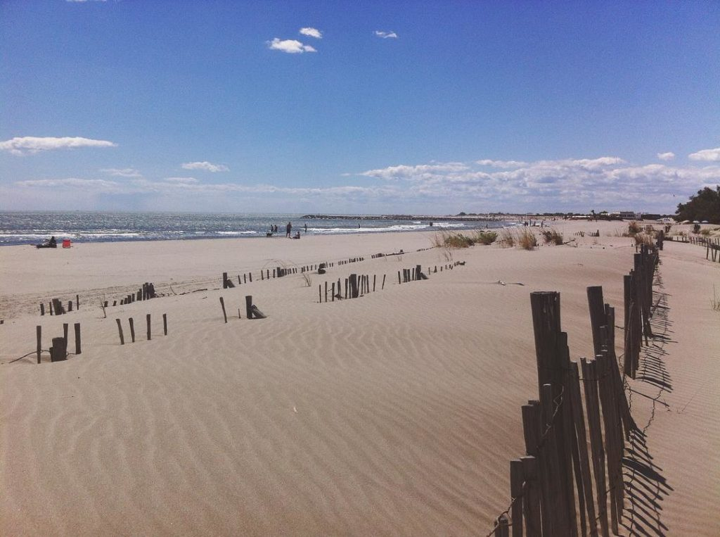 plage crin blanc camargue