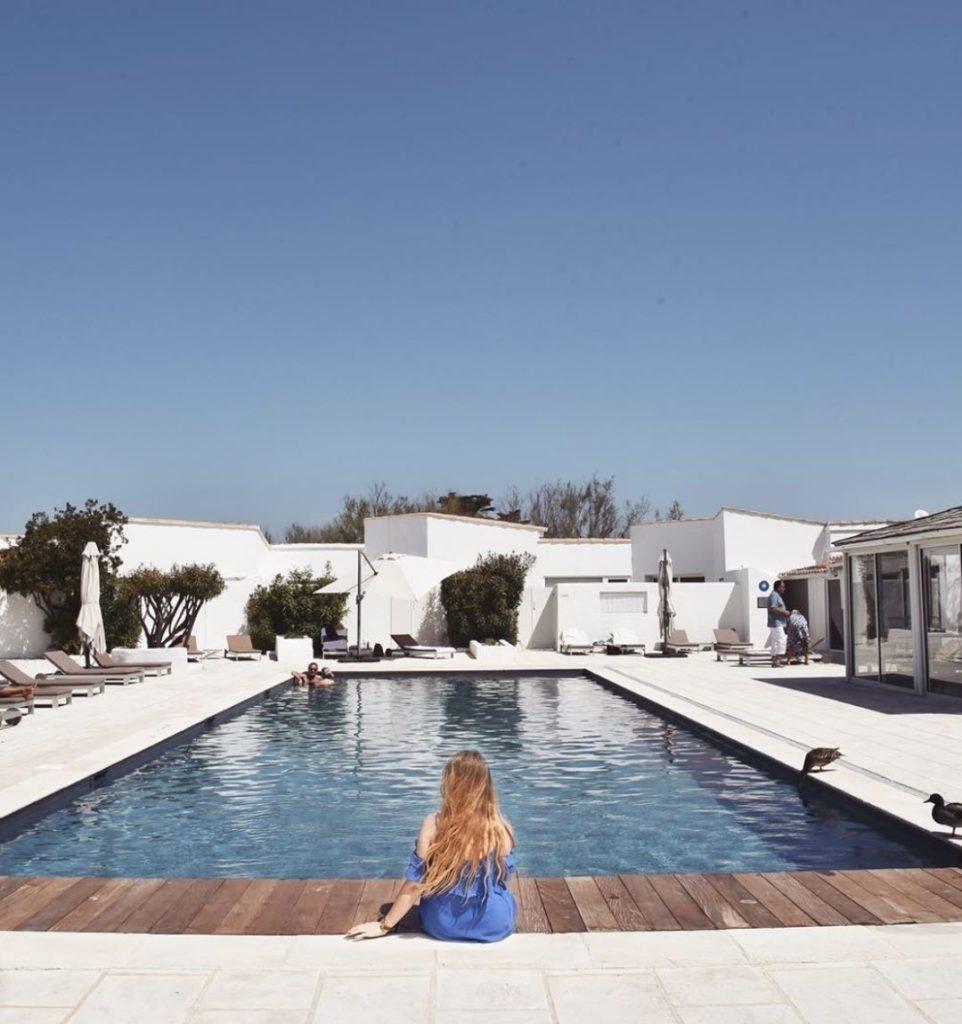 hôtel camargue piscine