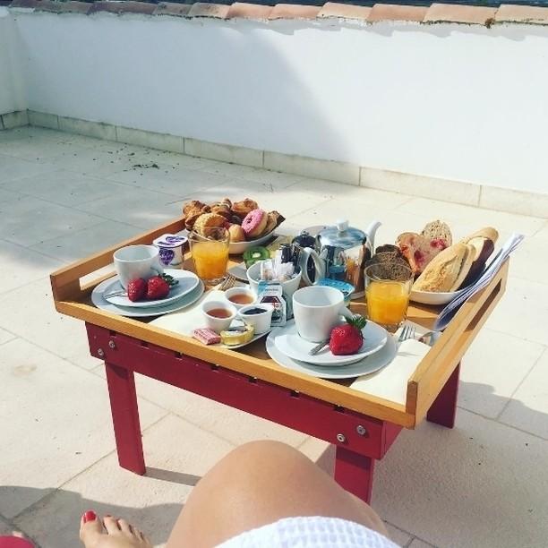 petit déjeuner mas de la fouque