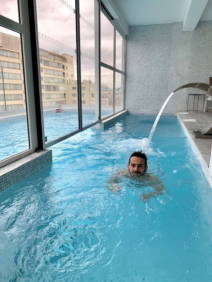 hotel avec piscine cristal cannes
