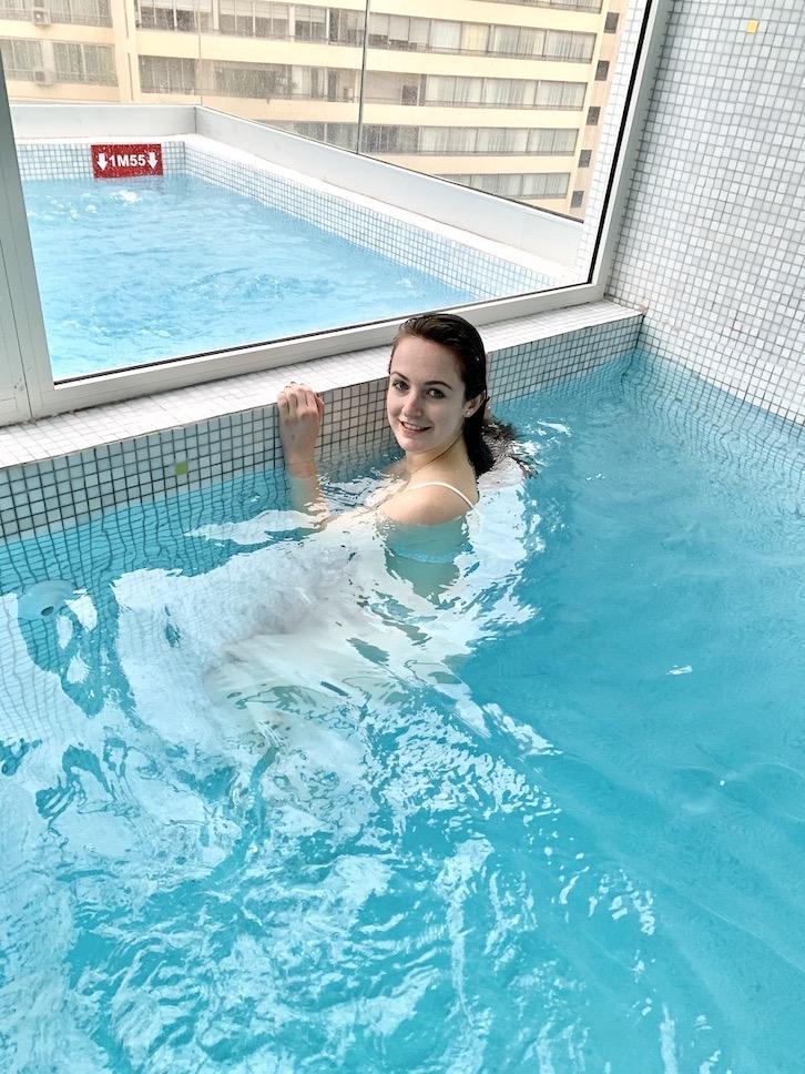 piscine hotel cannes croisette