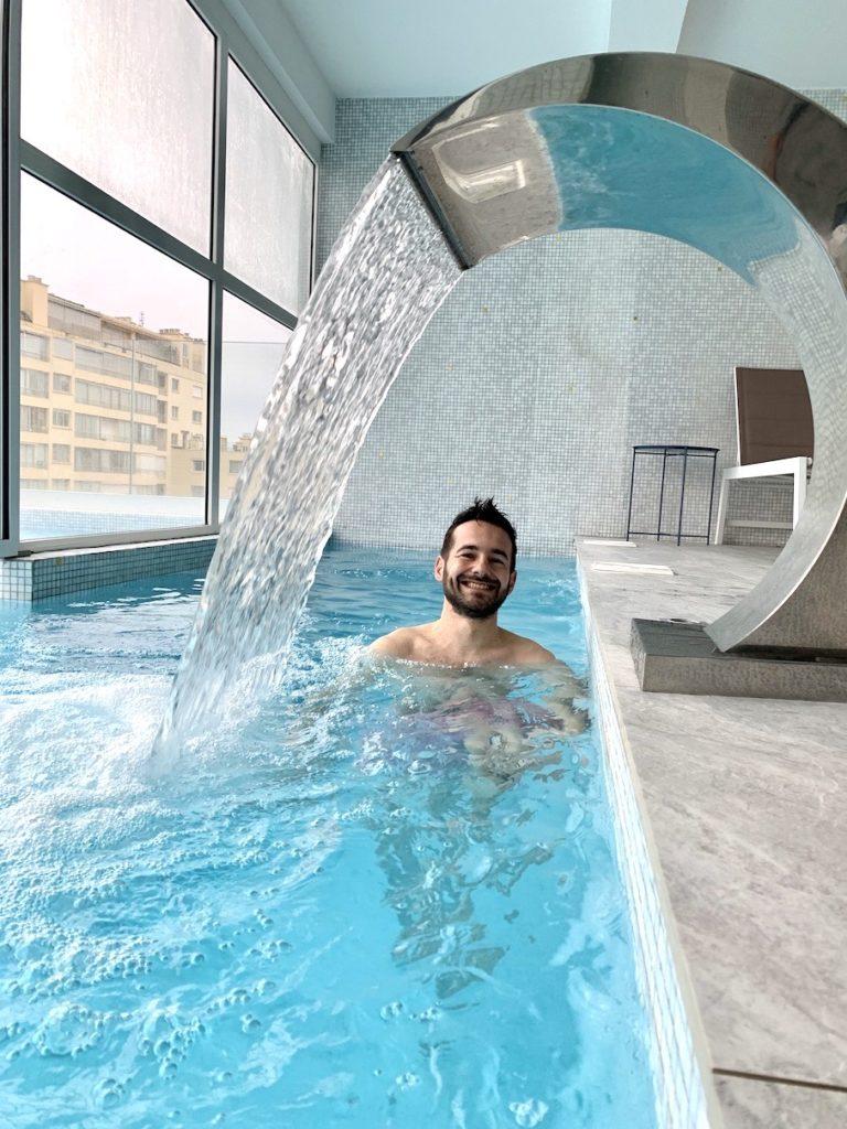 piscine cannes cristal hotel