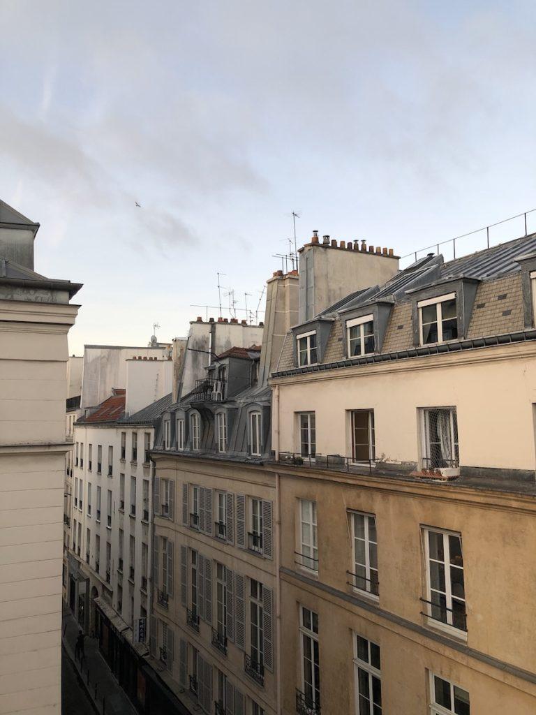 hotel vue toits paris 2eme