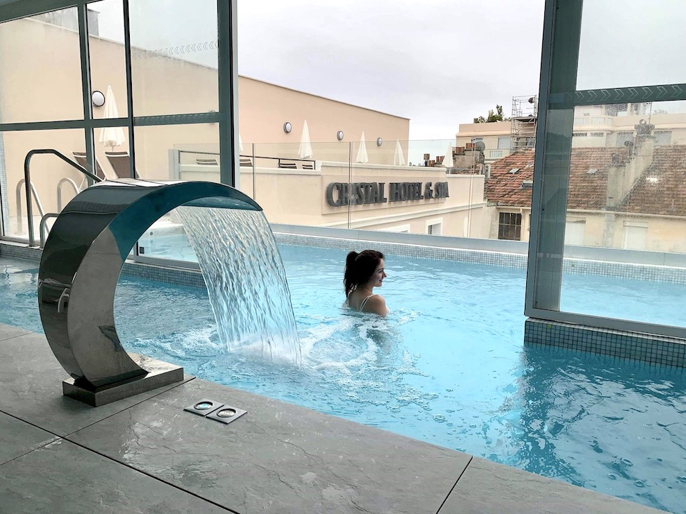 spa cannes rooftop hotel cristal