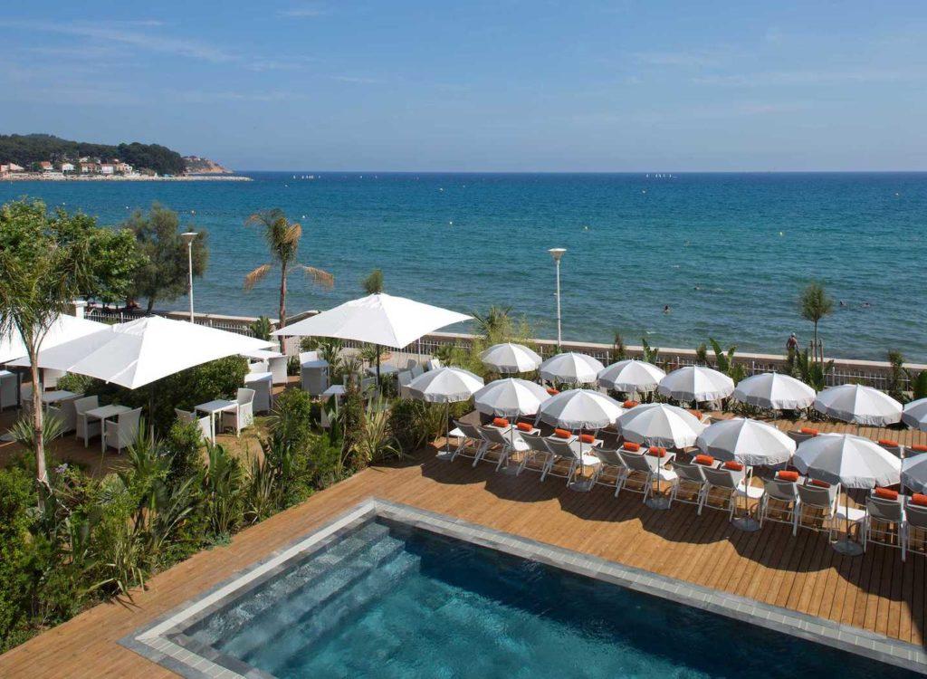 grand hôtel des sablettes plage