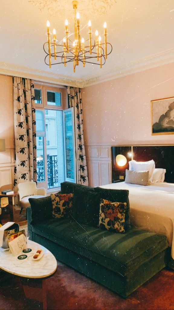 chambre hôtel grand powers