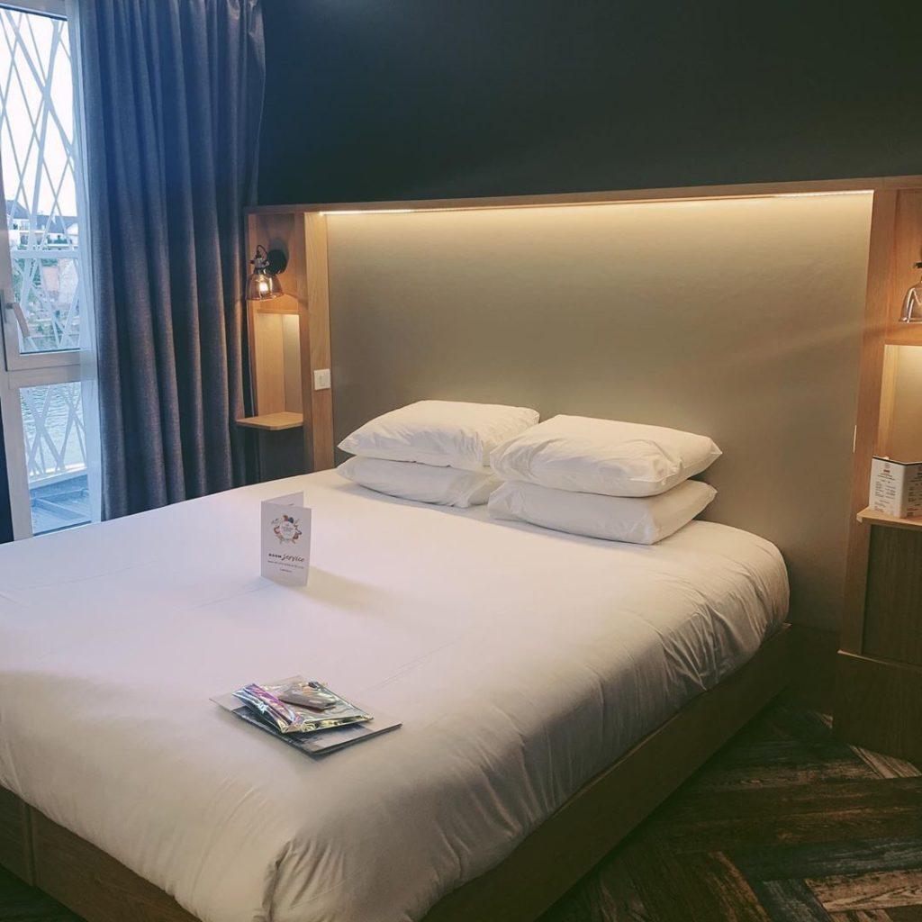 Taim hôtel Compiègne chambre lit